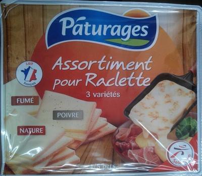 Assortiment pour Raclette 3 Variétés (Fumé, Poivre, nature) - Product