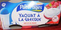 Yaourt à la grecque sur lit de fruits - Product - fr