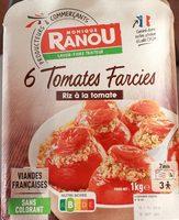 6 tomates Farcies, riz a la tomate - Product - fr