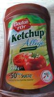 Ketchup Allégé (- 50% Sucres) - Product