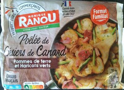 Poêlée de Gésiers de Canard, surgelée - Prodotto - fr