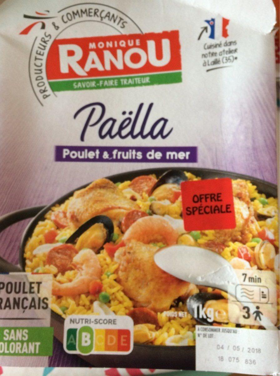 PaëllaPoulet & fruits de mer - Product