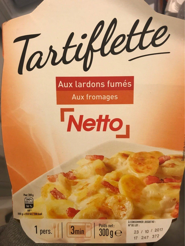 Tartiflette Aux lardons fumés Aux fromages - Produit - fr