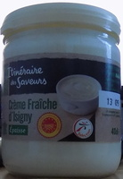 Crème fraîche d'Isigny épaisse - Produit