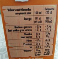Paquito Pilki Tropical - Informations nutritionnelles - fr