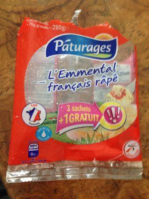 Emmental français râpé - Product - fr