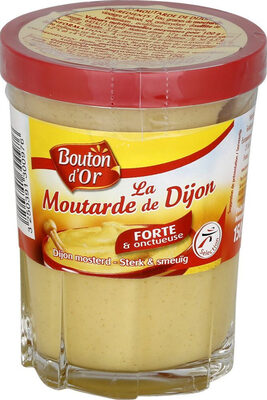 Moutarde de dijon, verre cannelé - Produit - fr