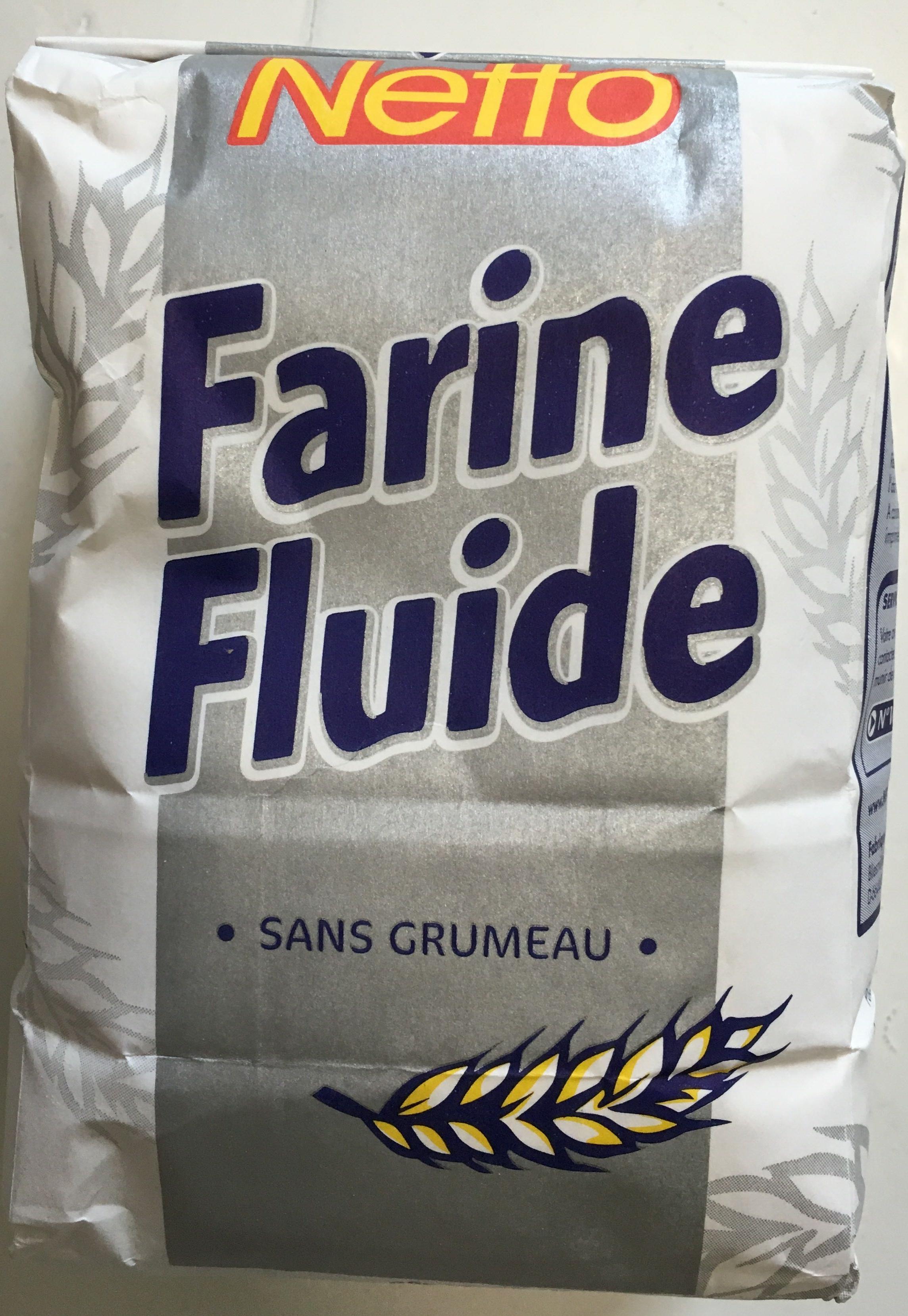 Farine fluide sans grumeau - Product