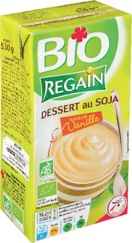 Dessert soja saveur vanille bio - Produit - fr