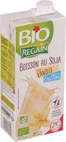 Boisson au soja à la vanille source de calcium bio - Produit - fr