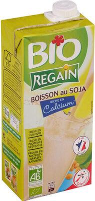 Boisson au soja nature BIO - Produit - fr
