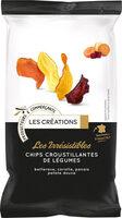 Les irrésistibles chips croustillantes de légumes - Produit - fr