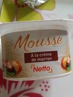 Mousse a la crème de marron - Produit - fr
