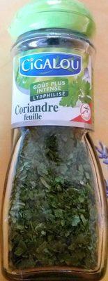Coriandre feuille - Produit - fr