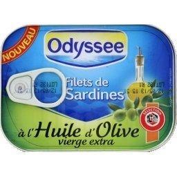 Filets de Sardines à l'Huile d'Olive vierge extra - Produit