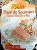 Pavé de Saumon Sauce Oseille et Riz - Produit
