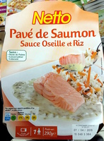 Pavé de Saumon Sauce Oseille et Riz - Product - fr
