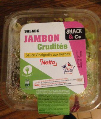 Salade Jambon Crudités - Product