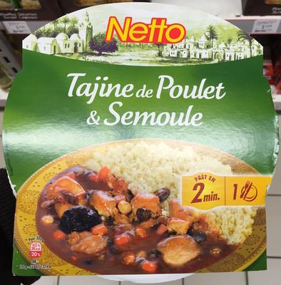 Tajine de Poulet & Semoule - Produit