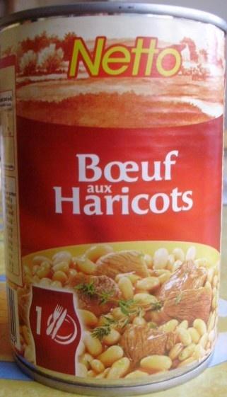Bœuf aux Haricots - Produit