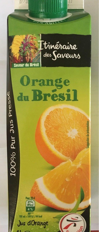 Jus d'orange pressée du Brésil - Product - fr