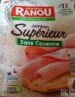 Mon gourmand, jambon découenné dégraissé - Informations nutritionnelles - fr