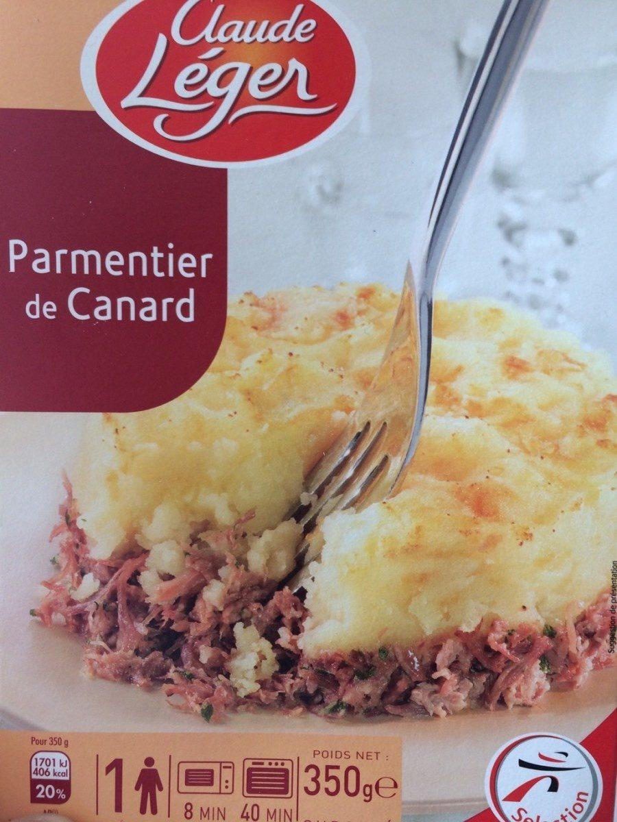 Parmentier de Canard - Product - fr