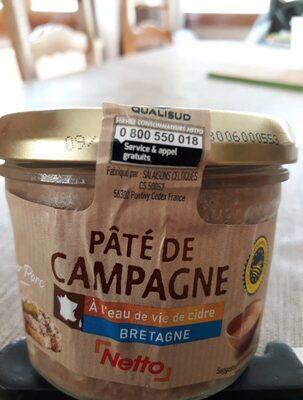 Netto Terrine Eau Vie Cidre - Product - fr