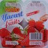 Yaourt aux bons morceaux de fraise - Produit