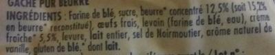 Gâche vendéenne - Ingrediënten