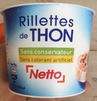 Rilletes de thon - Product - fr