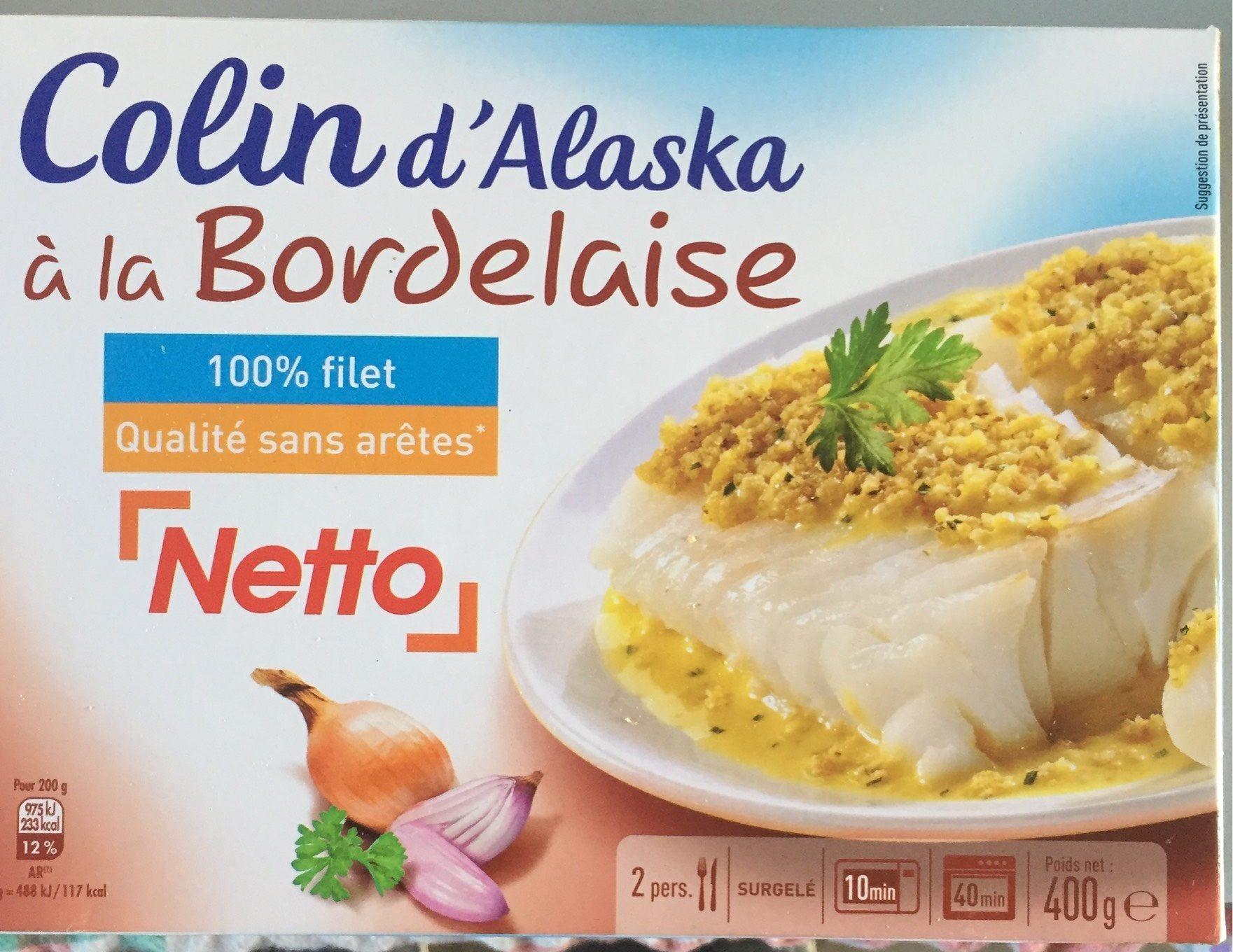 Colin d'Alaska à la Bordelaise - Product - fr