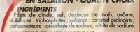 Rôti de Dinde - Ingredients - fr