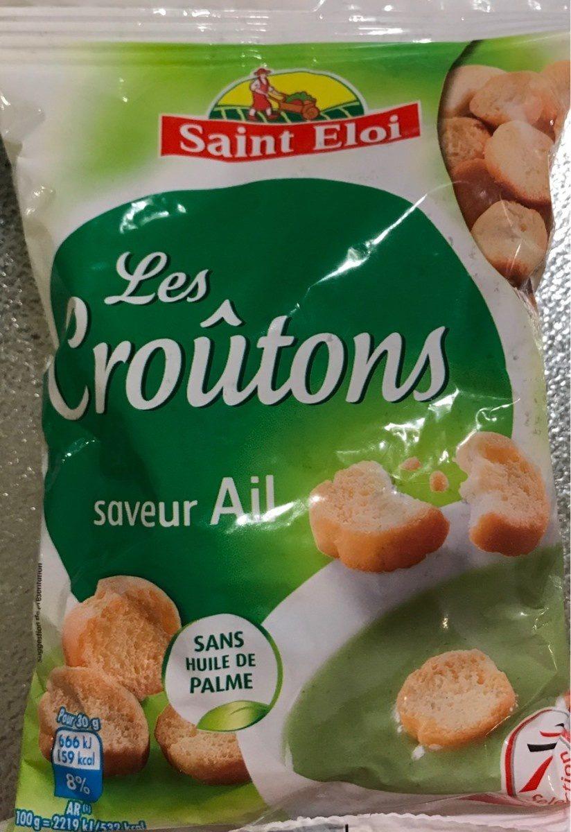 Les croûtons saveur ail - Produit - fr