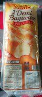 2 demi baguettes précuites - Product - fr