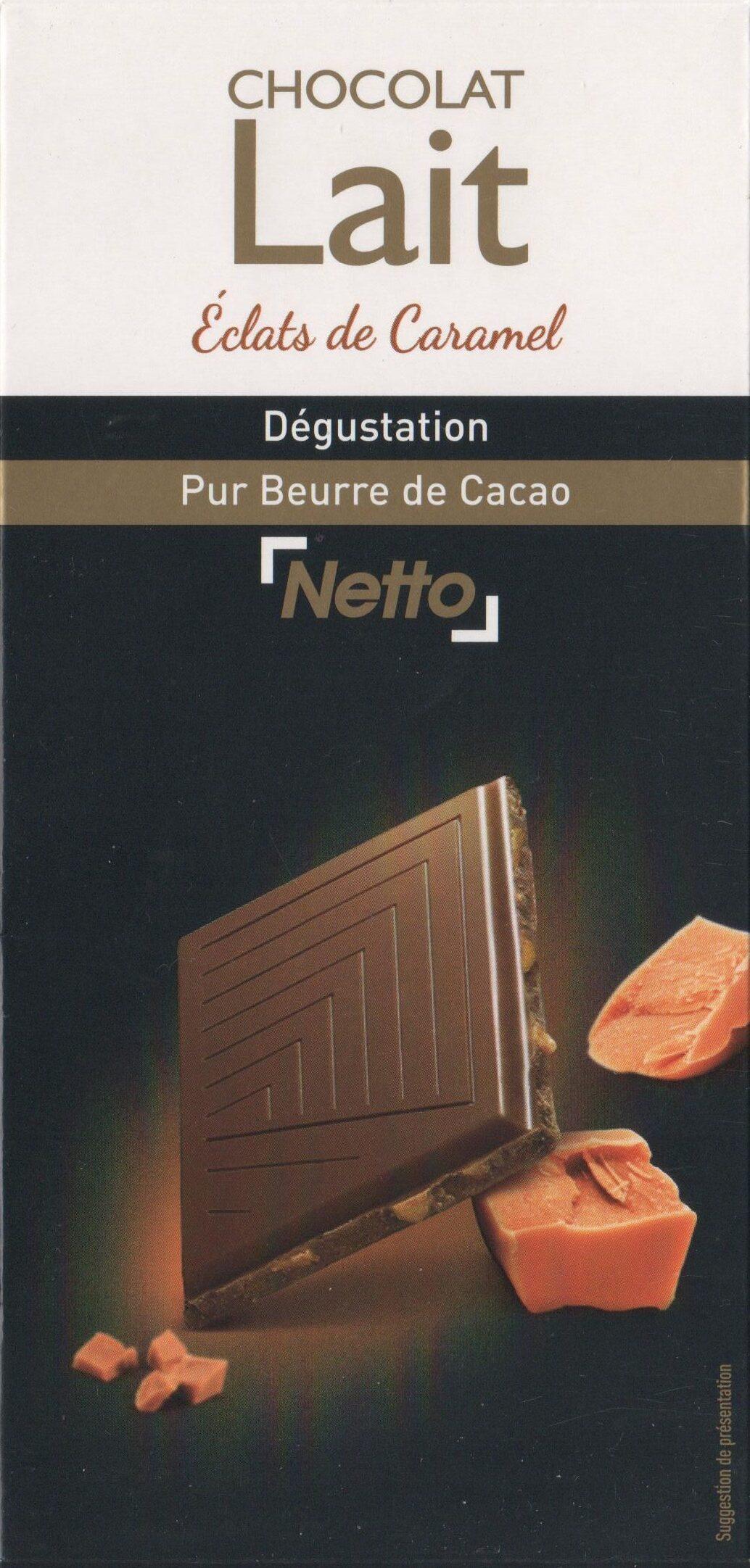 Chocolat Lait Dégustation Aux Éclats de Caramel - Produit - fr