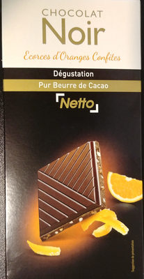 Le Captivant Chocolat noir écorces d'orange confites - Product