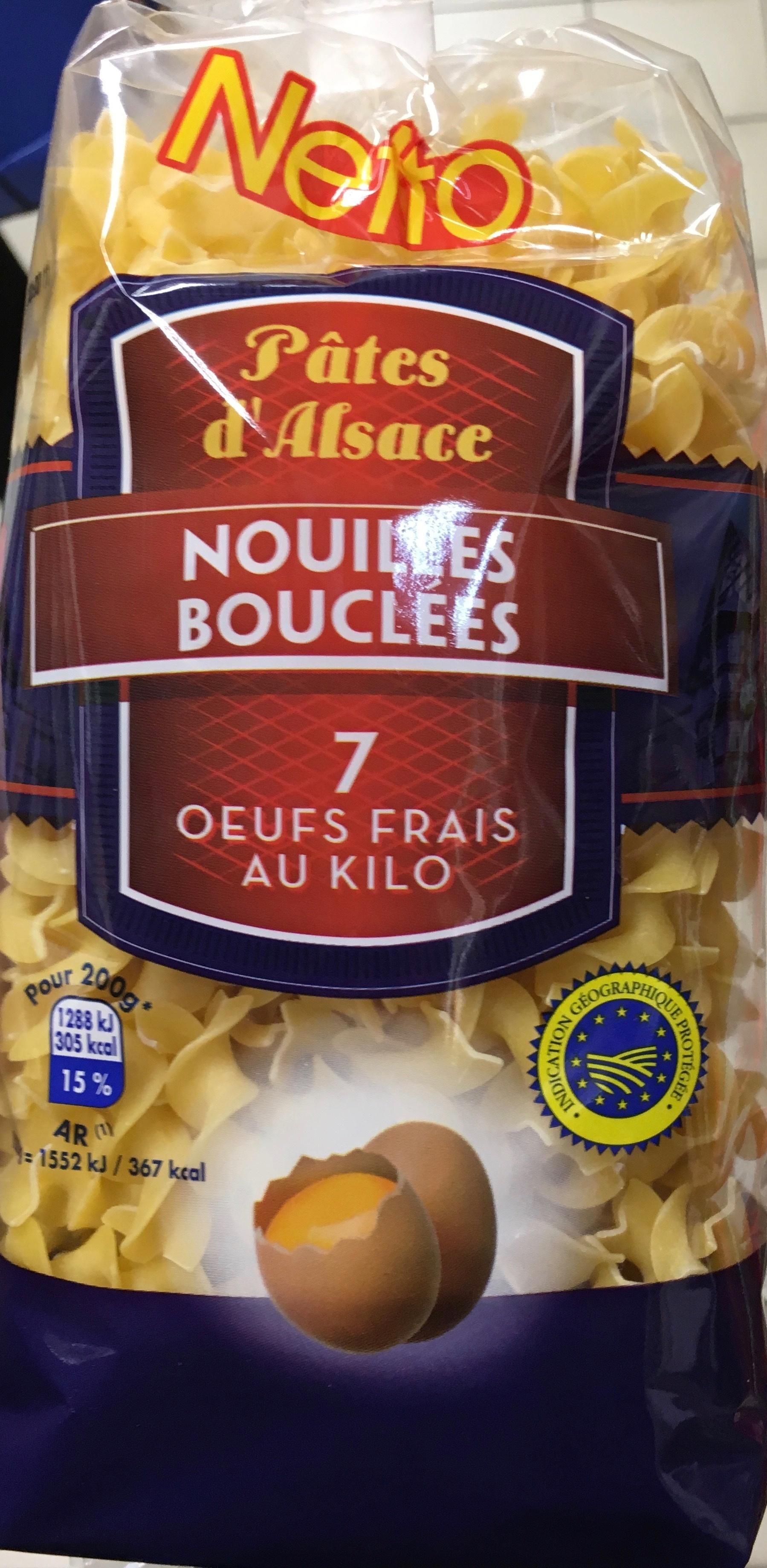 Nouilles bouclées 7 oeufs frais au kilo - Product