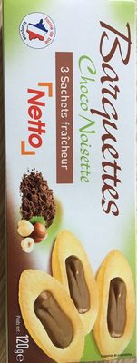 Barquettes Choco Noisette - Product