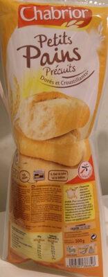 Petits pains précuits dorés et croustillants - Product - fr