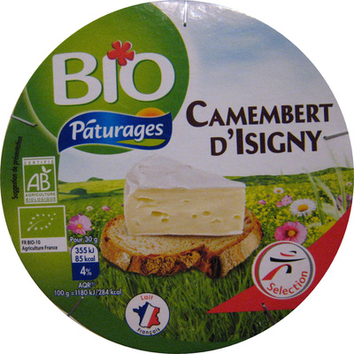 Camembert d'Isigny Bio (22% MG) - Product