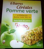 Barre de Céréales Pomme Verte - Produit - fr