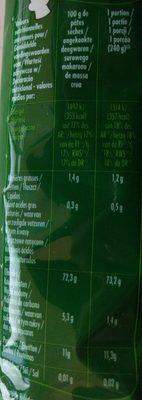 Capellini - Informations nutritionnelles - fr