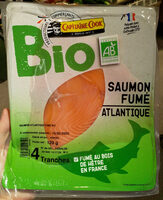 Saumon Atlantique fumé bio - Product - fr