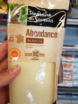 Abondance - Produit