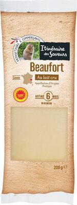 Beaufort aop au lait cru - Produit - fr