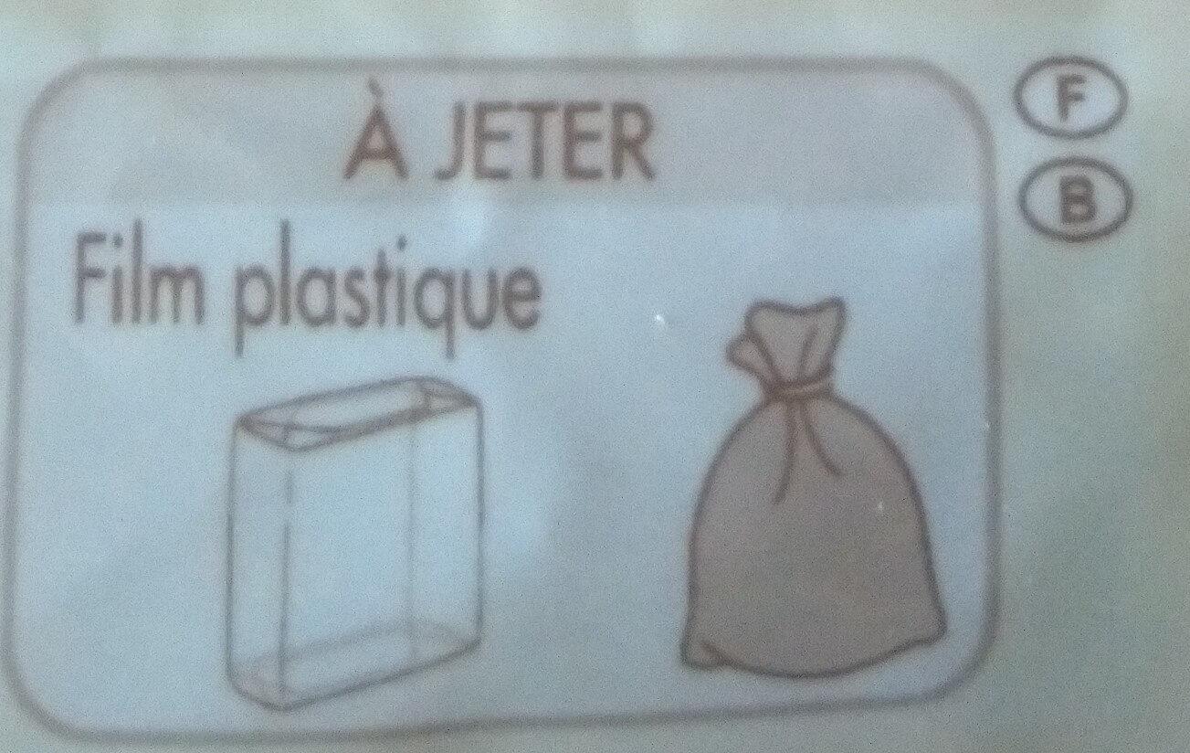 Beaufort aop au lait cru - Instruction de recyclage et/ou informations d'emballage - fr