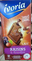 Lait Raisins & Noisettes Producteurs & commerçants - Product - fr