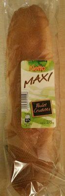 Maxi Poulet crudités - Produit