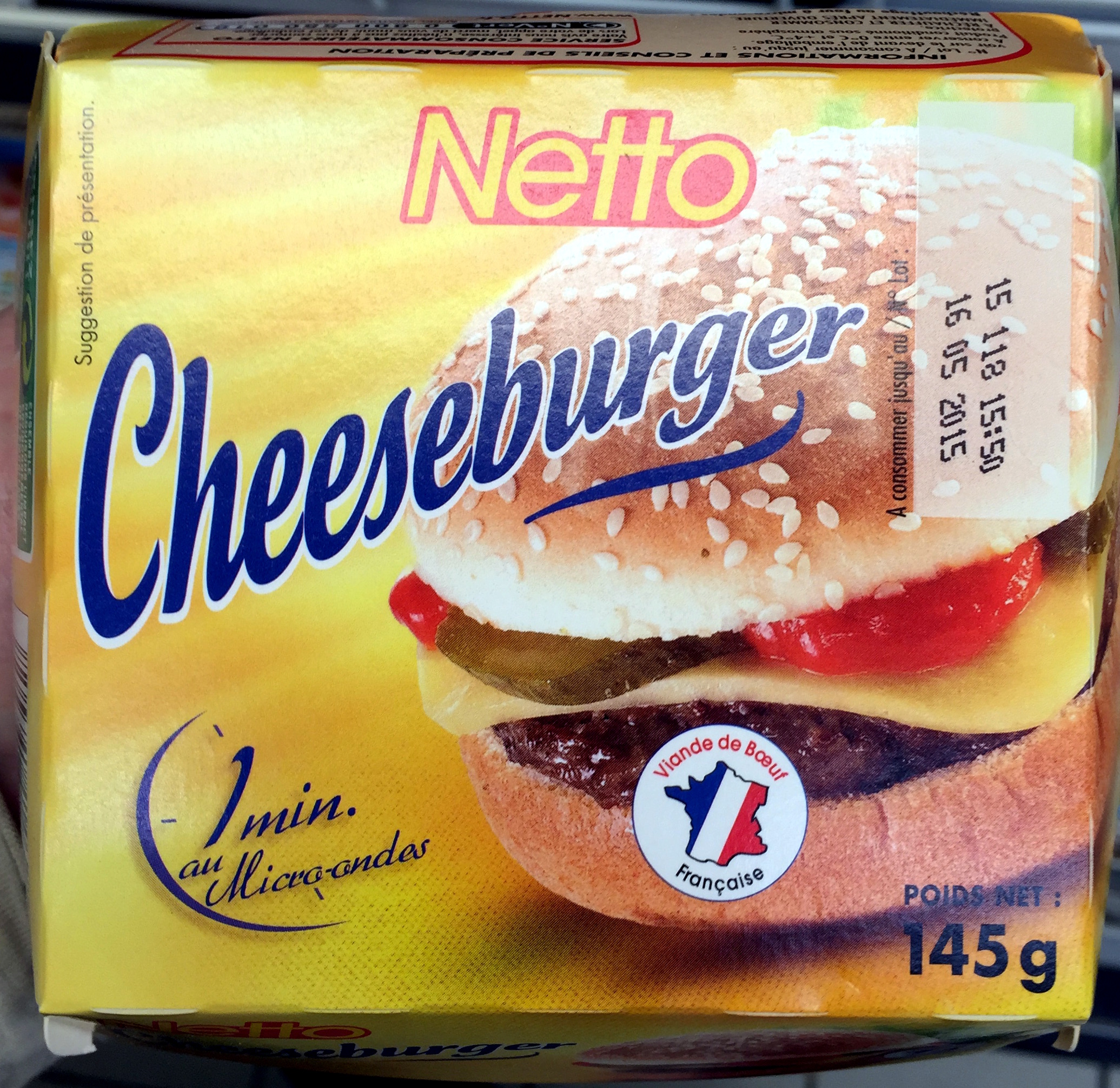 Cheeseburger - Produit - fr